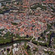 Zwolle, uitgaanscentrum en winkelstand